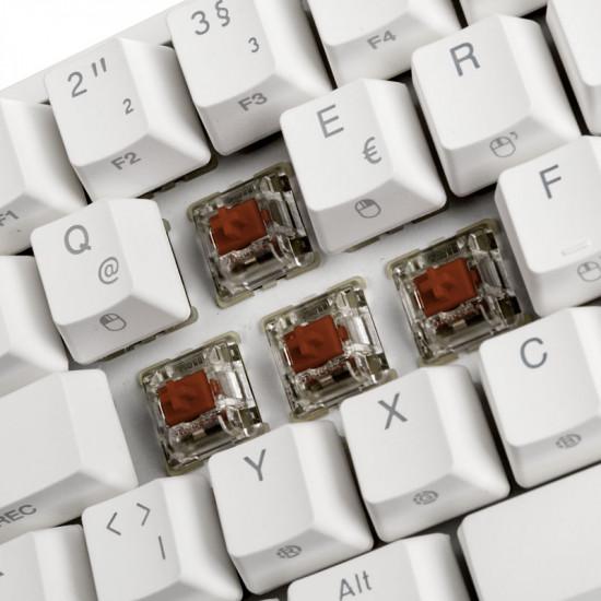 Ducky ONE 2 Mini Gaming, MX-Brown, RGB, white (DE) DKON2061ST-BDEPDWWT1