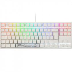 Ducky ONE 2 TKL Gaming, MX-Red, RGB, white (DE) DKON1787ST-RDEPDWWT1