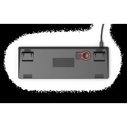 Glorious GMMK Compact black - Gateron Brown, US, gaming keyboard
