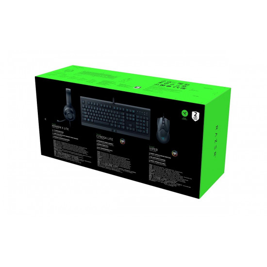 Razer Power Up Bundle, Cynosa Lite & Viper & Kraken X Lite, UK SLO/CRO