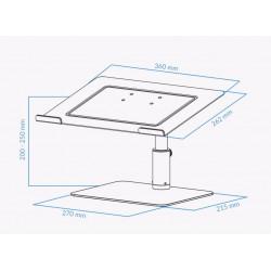 UVI Premium ALU stand for laptop