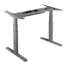 UVI DESK Electric Sit-Stand Desk Frame Gray