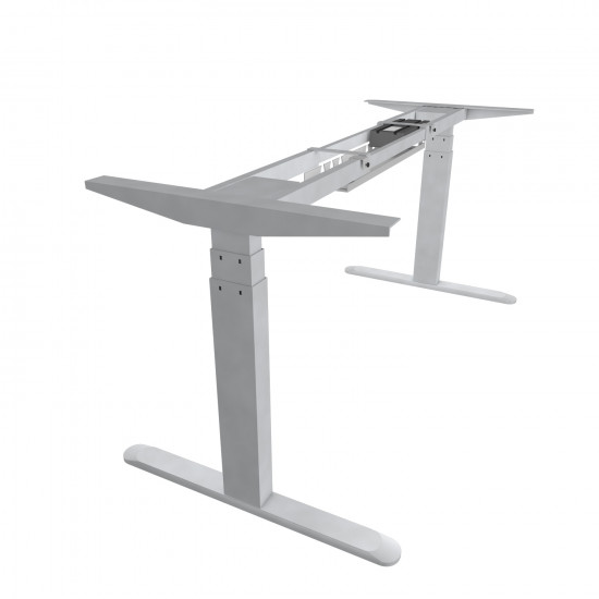 UVI Desk electrical lifting frame (sit/stand) desk white