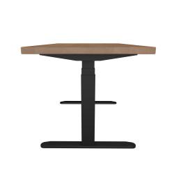 UVI Desk Electric Adjustable (sit-stand) desk Natural Oak 140cm x 75cm